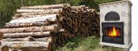 Poêle à bois céramique - Léandre