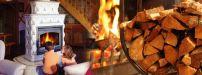 Poêle à bois céramique - Perrine