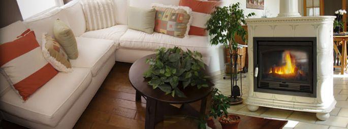 Poêle à bois céramique - Charline